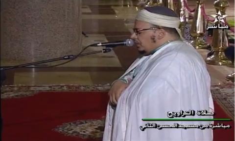 تراويح 2016 الليلة 3 من مسجد الحسن الثاني بالدار البيضاء مع الشيخ عمر القزبري
